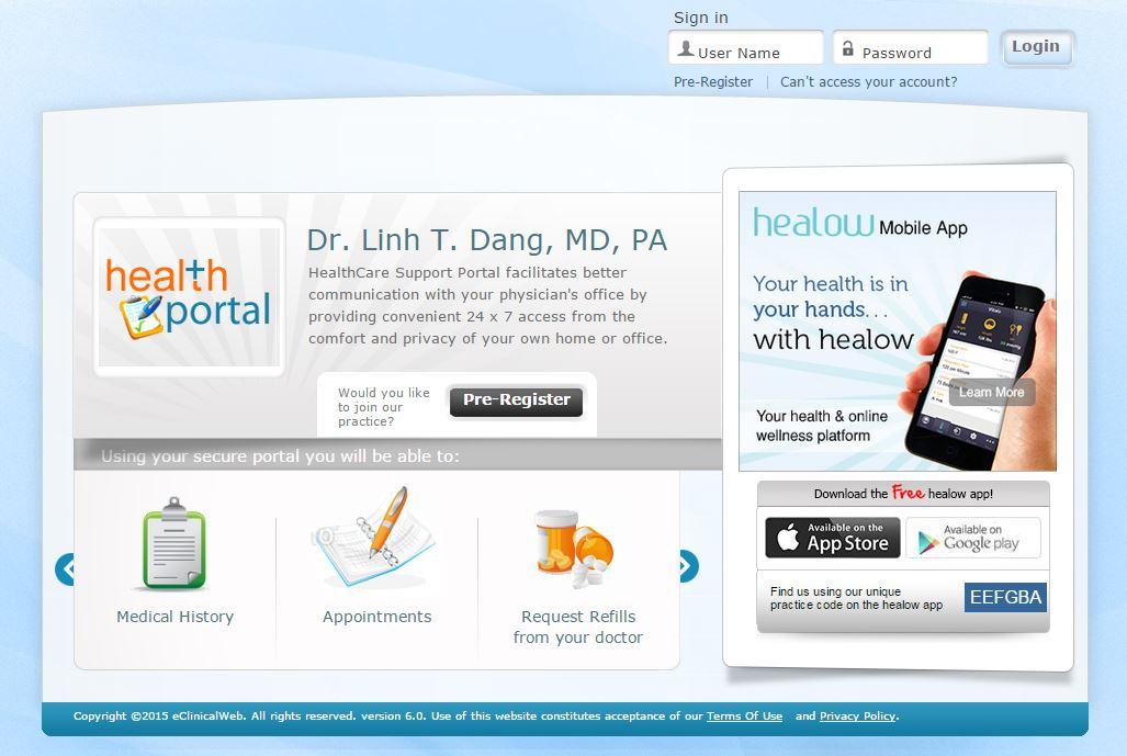 Patient Resources - SpringWoods Neurology Clinic - Linh T